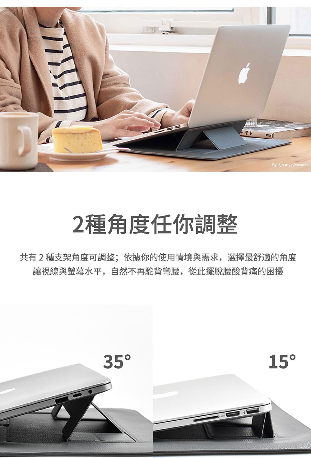 【SINEX】全球首款 3 合 1 變形筆電包 適用13/14吋筆電 (收納包+筆電架+鍵盤手托) - SINEX電腦包簡介 04