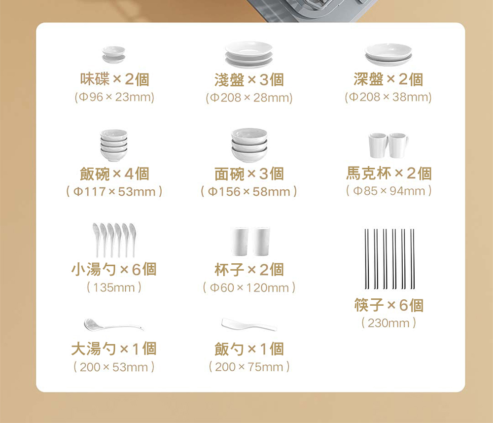 【早鳥優惠】VIOMI 雲米互聯網免安裝洗烘碗機(VDW0401) - 16