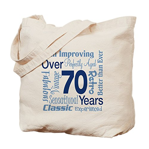 70th Birthday Gift Tote Shopping Cotton Bag Vintage 1949 Matured To Perfection