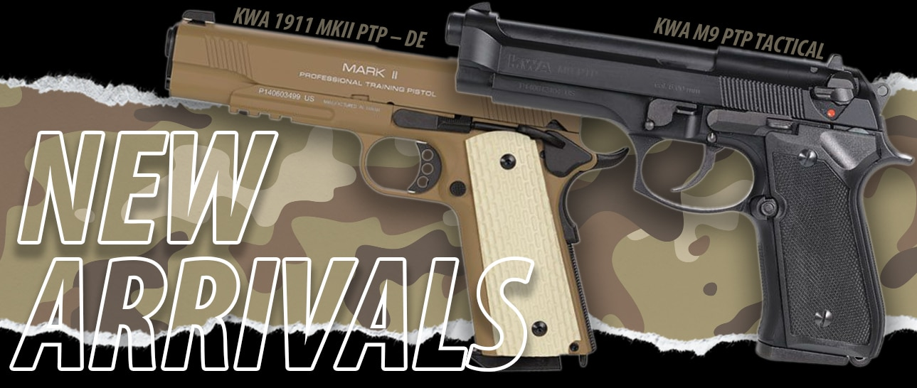 KWA M9 and M1911 New Arrivals