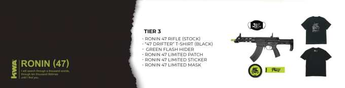 KWA Ronin 47 Premium Pack