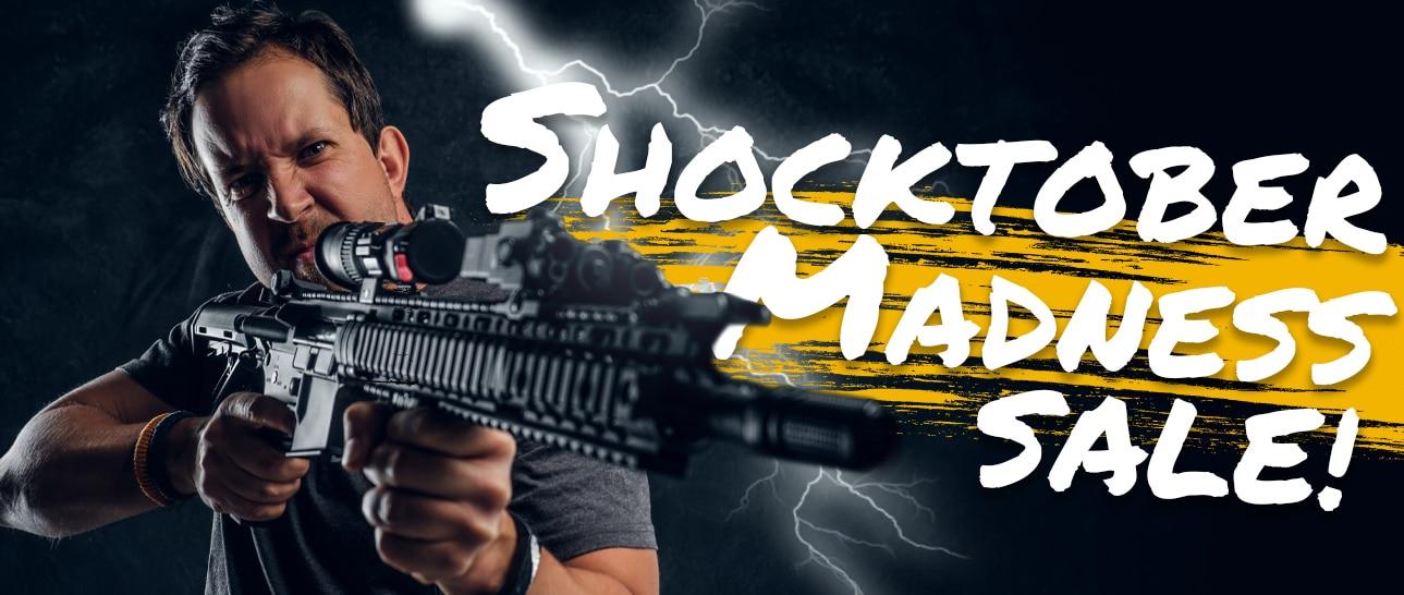 October 8 Shocktober Madness Banner