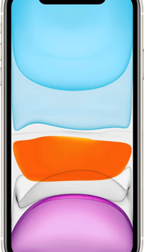 Apple iPhone 11 (128GB White) at £19.00 on Unlimited Max (24 Month(s) contract) with UNLIMITED mins; UNLIMITED texts; UNLIMITEDMB of 5G data. £71.00 a month.