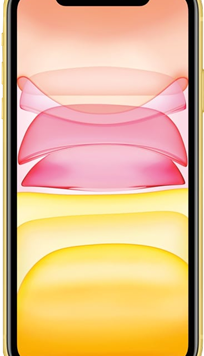 Apple iPhone 11 (128GB Yellow Used Grade A) at £29.00 on Unlimited with Entertainment (24 Month(s) contract) with UNLIMITED mins; UNLIMITED texts; UNLIMITEDMB of 5G data. £69.00 a month.