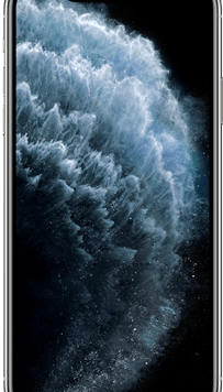 Apple iPhone 11 Pro Max (256GB Silver Used Grade A) at £129.00 on Red (24 Month(s) contract) with UNLIMITED mins; UNLIMITED texts; 6000MB of 5G data. £70.00 a month.