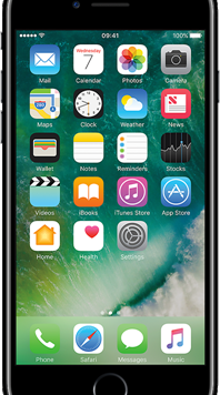 Apple iPhone 7 (32GB Jet Black) at £9.00 on Red (24 Month(s) contract) with UNLIMITED mins; UNLIMITED texts; 24000MB of 5G data. £35.00 a month. Extras: Vodafone: Data Capping.