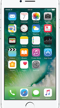 Apple iPhone 7 (32GB Silver) at £29.00 on Red with Entertainment (24 Month(s) contract) with UNLIMITED mins; UNLIMITED texts; 6000MB of 5G data. £37.00 a month. Extras: Vodafone: Data Capping.
