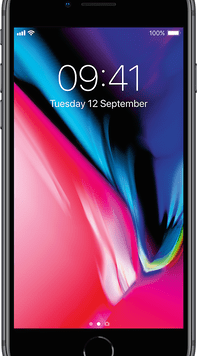 Apple iPhone 8 (64GB Space Grey Used Grade A) at £19.00 on Red (24 Month(s) contract) with UNLIMITED mins; UNLIMITED texts; 6000MB of 5G data. £38.00 a month.