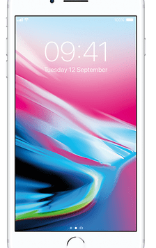 Apple iPhone 8 Plus (64GB Silver Used Grade A) at £19.00 on Red with Entertainment (24 Month(s) contract) with UNLIMITED mins; UNLIMITED texts; 6000MB of 5G data. £49.00 a month.