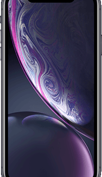 Apple iPhone XR (64GB Black Used Grade A) at £149.00 on Red (24 Month(s) contract) with UNLIMITED mins; UNLIMITED texts; 2000MB of 4G data. £38.00 a month.
