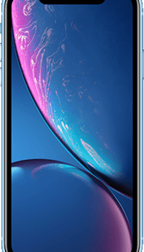 Apple iPhone XR (64GB Blue) at £29.00 on Red (24 Month(s) contract) with UNLIMITED mins; UNLIMITED texts; 24000MB of 5G data. £51.00 a month.