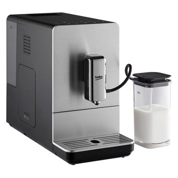 Beko CEG5331X Stainless Steel Bean To Cup Full Automatic Espresso Coffee Machine with Milk Cup