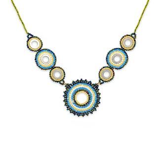 Boho Betty Demeter Beaded Necklace