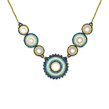 Boho Betty Demeter Beaded Necklace