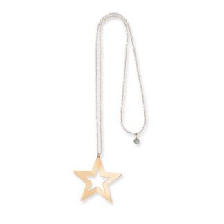 Boho Betty Durga Star Crystal Necklace