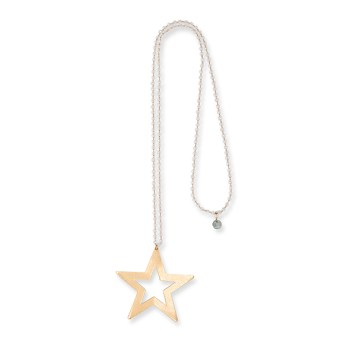 Boho Betty Durga Star Crystal Necklace