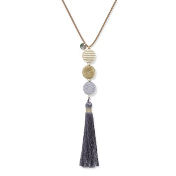 Boho Betty Tassel Necklace