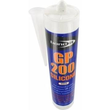 Bond It 310ml GP200 General Purpose Silicone Sealant - Duct Grey
