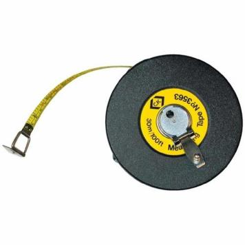 C.K Tools Professional Surveyors Steel Double sided Measuring Tape 30m