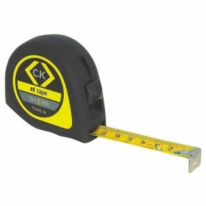 C.K Tools Softech ABS Technicians Measuring Tape - 3 Meters/10 Foot
