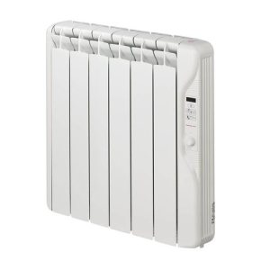 Elnur 0.75kW 24 Hour Digital 6 Module Oil Filled Electric Panel Radiator Heater