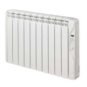 Elnur 1.25kW 24 Hour Digital 10 Module Oil Filled Electric Panel Radiator Heater