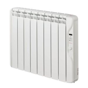 Elnur 1kW 24 Hour Digital 8 Module Oil Filled Electric Panel Radiator Heater