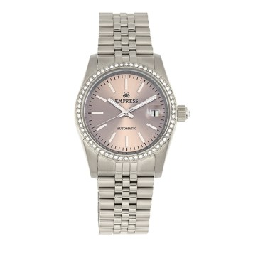 Empress Ladies' Constance Automatic Watch with Stainless Steel Bracelet