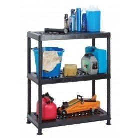 Garland Self Assembly Ventilated Plastic Shelving Unit - 3 Shelf