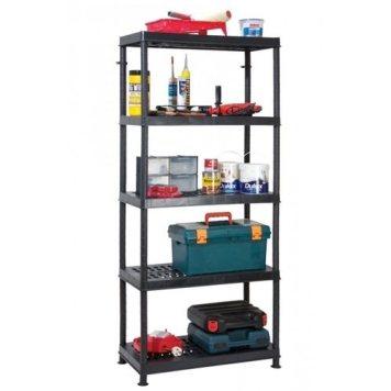 Garland Self Assembly Ventilated Plastic Shelving Unit - 5 Shelf