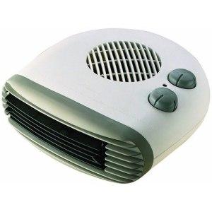 Kingavon 2kW Portable Flat Fan Heater