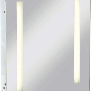 KnightsBridge Illuminated Bathroom Wall Mirror IP44 Rated with Shaver Socket