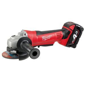 Milwaukee Power Tools HD18 AG-402 Angle Grinder 115mm 18V 2 x 4.0Ah Li-ion