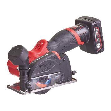 Milwaukee Power Tools M12 FCOT-622X FUEL™ Cut Off Tool Kit 12V 1 x 2.0Ah & 1 x 6.0Ah Li-ion