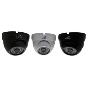 OYN-X Fixed CVI CCTV Dome Camera - Black