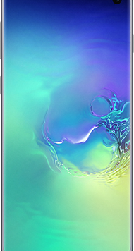 Samsung Galaxy S10 (128GB Prism Green Used Grade A) at £29.00 on Red (24 Month(s) contract) with UNLIMITED mins; UNLIMITED texts; 6000MB of 5G data. £46.00 a month.