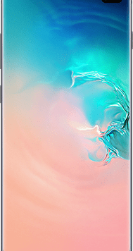Samsung Galaxy S10 Plus (128GB Prism White Used Grade A) at £49.00 on Red (24 Month(s) contract) with UNLIMITED mins; UNLIMITED texts; 6000MB of 5G data. £50.00 a month.