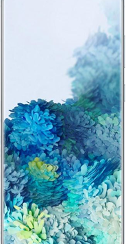 Samsung Galaxy S20 5G (128GB Blue Used Grade A) at £29.00 on Red with Entertainment (24 Month(s) contract) with UNLIMITED mins; UNLIMITED texts; 6000MB of 5G data. £57.00 a month.