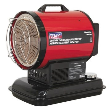 Sealey 20.5kW Infrared Paraffin & Diesel Space Heater