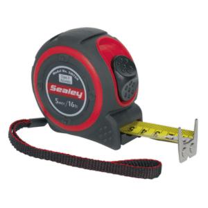 Sealey 5m Heavy Duty Measuring Tape
