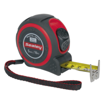 Sealey 5m Heavy Duty Measuring Tape