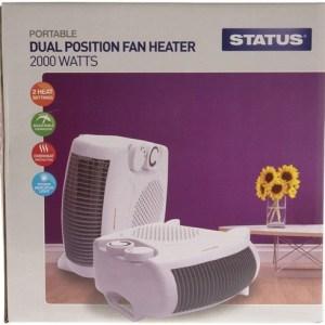 Status 2kW Dual Position Fan Heater