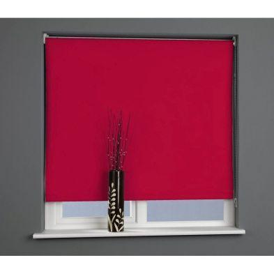 Sun Lover Red 60cm Blackout Roller Blind