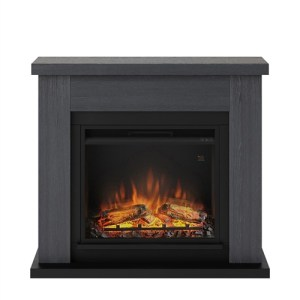 Tagu Frode Electric Fireplace - Ash Grey Complete Suite UK Plug