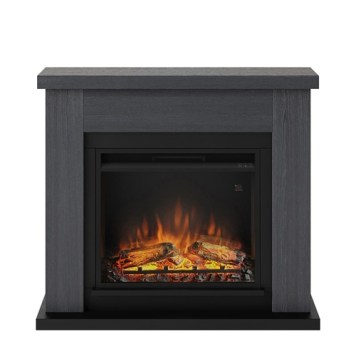 Tagu Frode Electric Fireplace - Ash Grey Complete Suite UK Plug