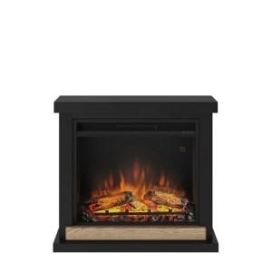 Tagu Hagen Electric Fireplace - Deep Black Complete Suite UK Plug