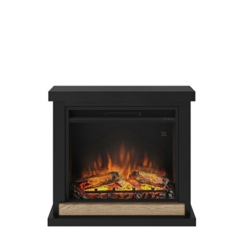 Tagu Hagen Electric Fireplace - Deep Black Complete Suite UK Plug