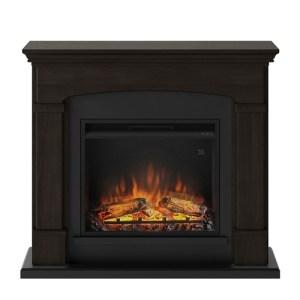 Tagu Helmi Electric Fireplace - Espresso Wenge Complete Suite UK Plu