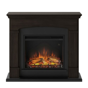 Tagu Helmi Electric Fireplace - Espresso Wenge Complete Suite UK Plu