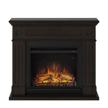 Tagu Larsen Electric Fireplace - Espresso Wenge Complete Suite UK Plu